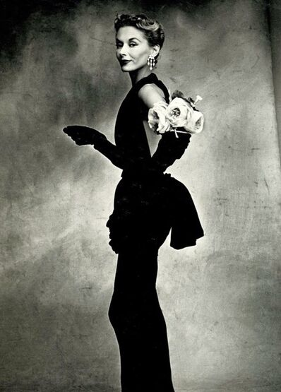 Irving Penn, 'Woman with Roses on her arm', 1950