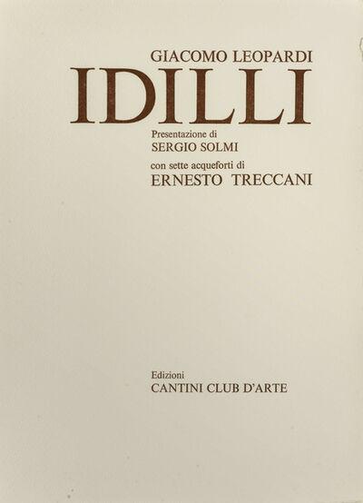 Ernesto Treccani, 'Idilli di Giacomo Leopardi'