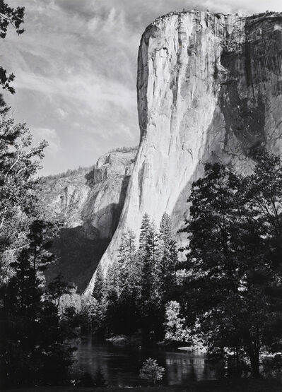 Ansel Adams, 'El Capitan, Morning, 1952', 1952