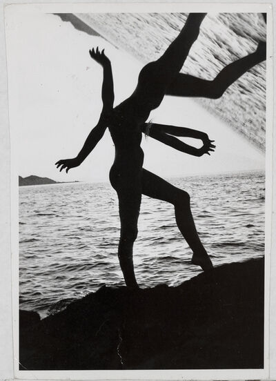 Weegee, 'Ocean Dancer Distortion', ca. 1950