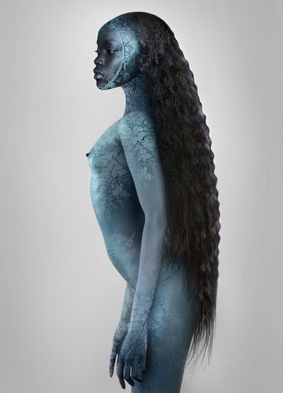 "Ingrid Baars, '""BLUE""', 2016"