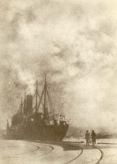 Christine B. Fletcher, 'Nearing Departure', ca. 1932