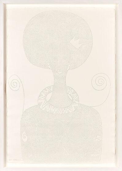 Victor Ehikhamenor, 'Iye Oba (King's Mother),', 2017
