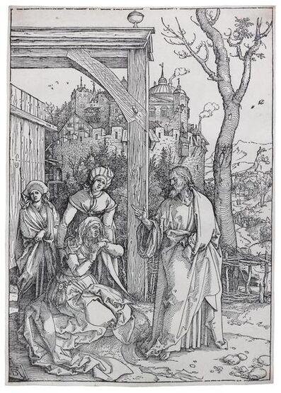 Albrecht Dürer, 'Christ Taking Leave of his Mother'