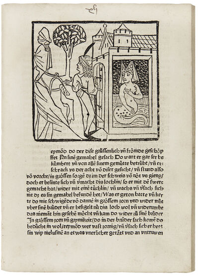 Anonymous, 'Sammelband with six popular illustrated German literary works', 1477-1489