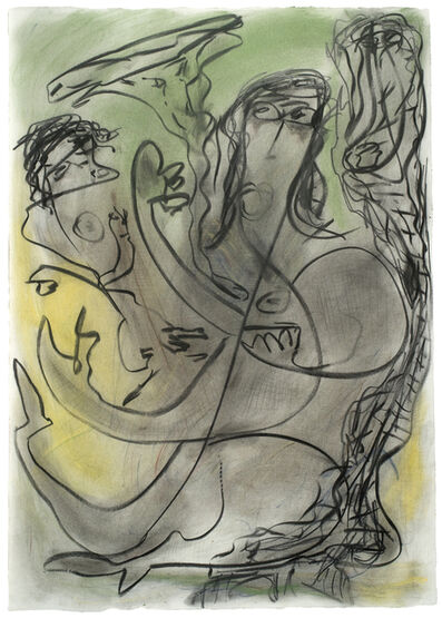 Thornton Dial, 'Untitled (Mother and Child)', 1995