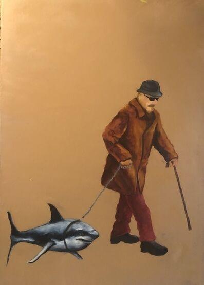 Razvan Burnete, 'Walking Shark', 2020