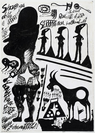 Carlo Zinelli, 'untitled', 1967