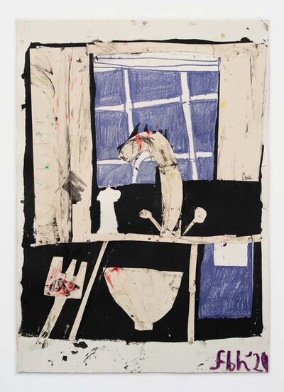 Florence Hutchings, 'The Kitchen Sink, Blue II', 2020