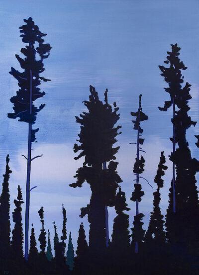 Mike Piggott, 'Purple Sky', 2017