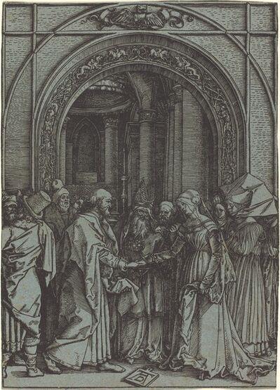 Albrecht Dürer, 'The Betrothal of the Virgin', ca. 1504-1505 (printed 1560s/1570s)