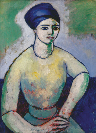 Morton Livingston Schamberg, 'Study of a Girl (Fanette Reider)', 1912