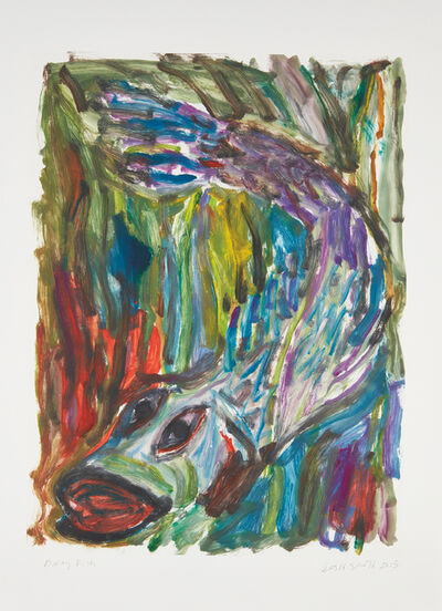 Josh Smith, 'Diving Fish', 2015