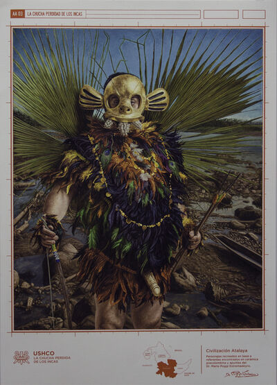 Fernando Gutierrez Huanchaco, 'Image of Civilization (Golden Bird)', 2015