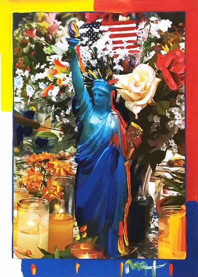 Peter Max, 'LAND OF THE FREE', 2001