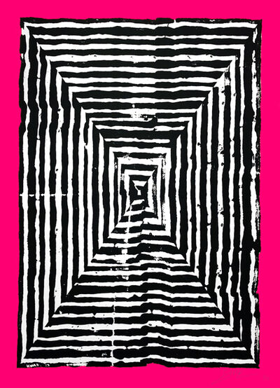 Revok, 'Kundalini fuscia', 2018