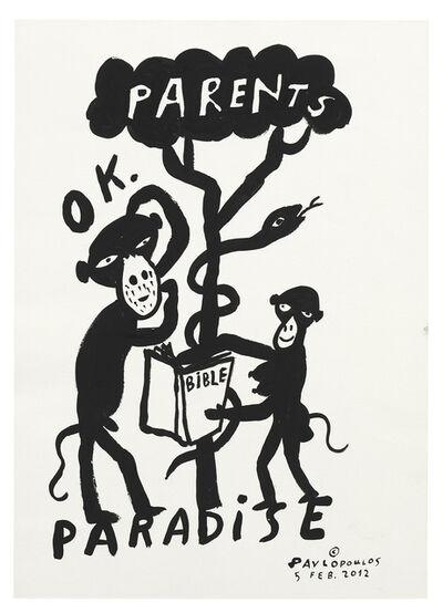 Tassos Pavlopoulos, 'Parents Paradise', 2012