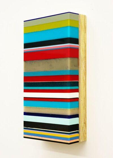 Harald Schmitz-Schmelzer, 'Farbsediment Flach 32F', 2011