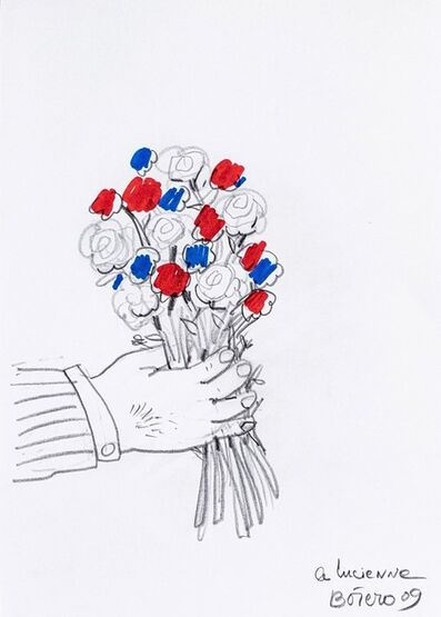 Fernando Botero, 'Bouquet de fleurs', 2009