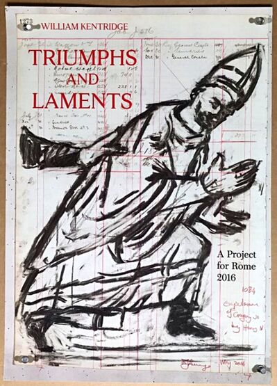 William Kentridge, 'Triumphs and Laments: A Project for Rome', 2016