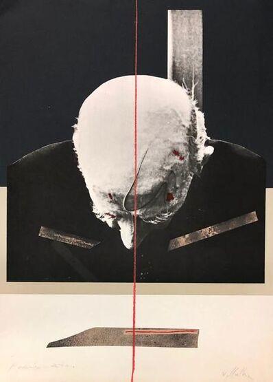 Dario Villalba, 'Hombre de frente', 1975