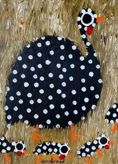 Cornbread, 'Black Hen and Chicks ', 2020