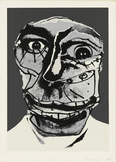 Antonio Saura, 'Moi', 1976