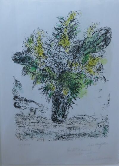 Marc Chagall, 'Mimosas ', 1968