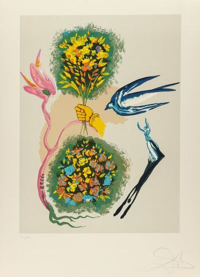 Salvador Dalí, 'Madam butterfly & the dream (two works)', 1978