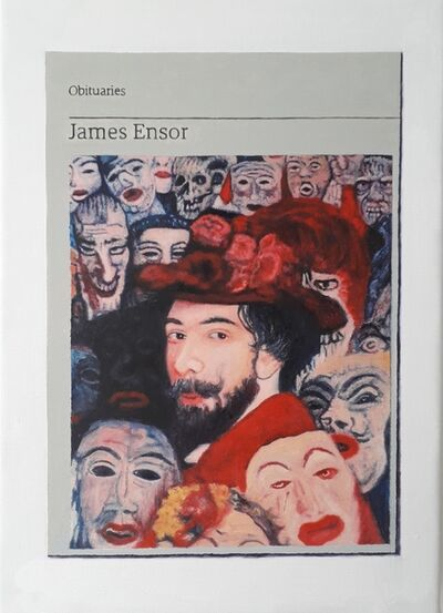 Hugh Mendes, 'Obituary: James Ensor ', 2019