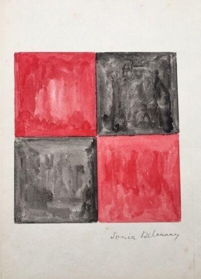 Sonia Delaunay, 'Gouache', 1971