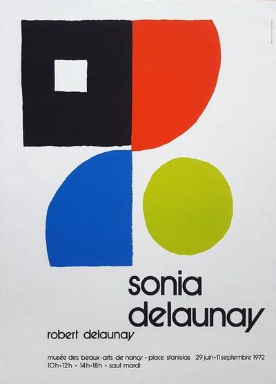 Sonia Delaunay, 'Musee des Beaux-Arts: Sonia Delaunay & Robert Delaunay', 1972