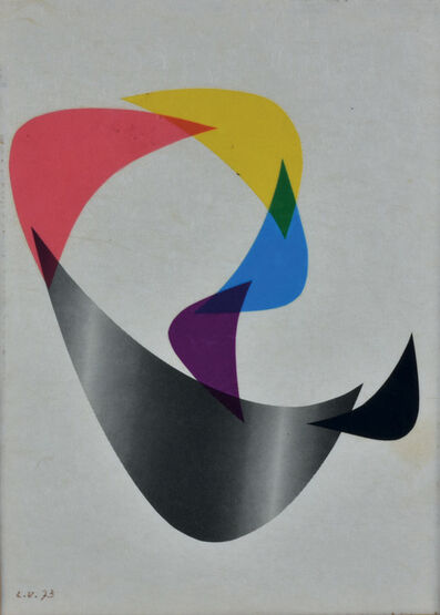 Luigi Veronesi, 'COMPOSIZIONE', 1973
