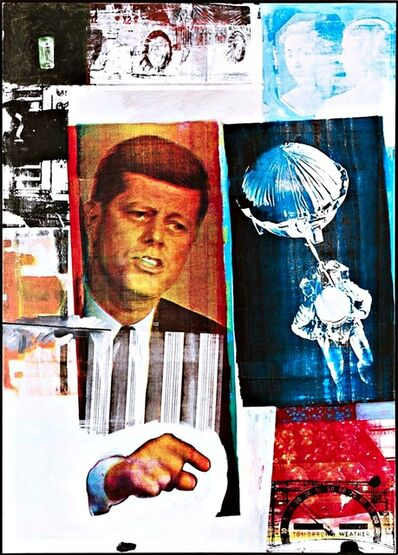 Robert Rauschenberg, 'Pop Art: Rare Vintage Poster published by the Royal Academy of Arts (UK)', 1991