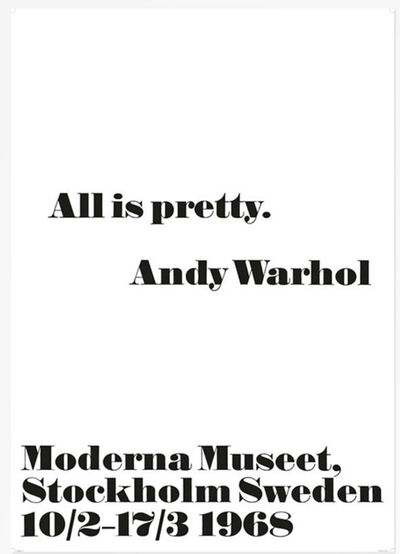 Andy Warhol, 'All is Pretty', 2014