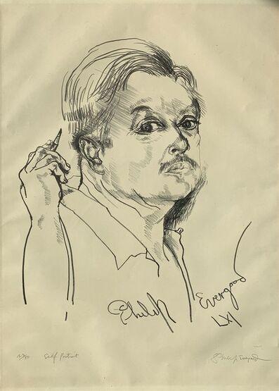 Philip Evergood, 'Self Portrait Without Hat (Sweet Self Portrait)', 1961