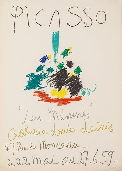 Pablo Picasso, 'Les Menines Galerie Louise Leiris', 1959