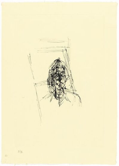 Alberto Giacometti, 'Jeune Femme', 1968