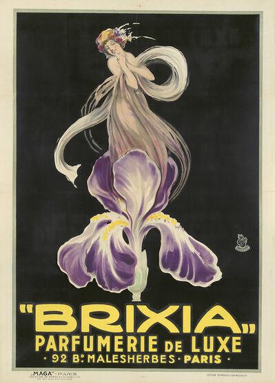 Luciano Achille Mauzan, 'Brixia / Parfumerie de Luxe.', ca. 1924