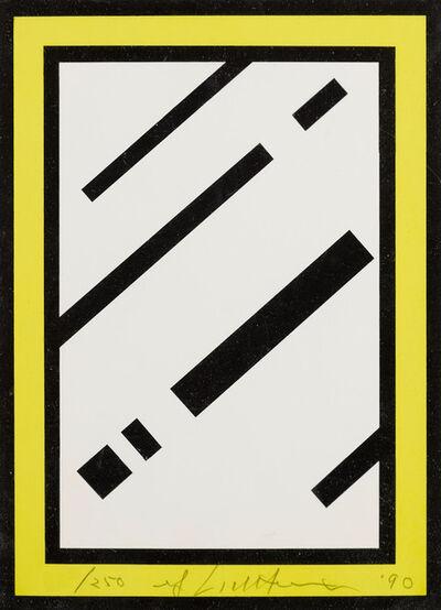 Roy Lichtenstein, 'Mirror', 1990