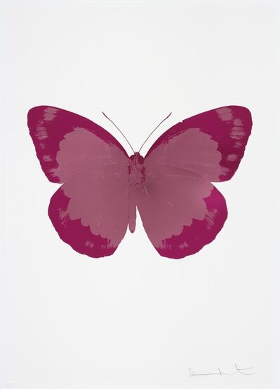 Damien Hirst, 'The Souls II - Loganberry Pink/Fuchsia Pink/Blind Impression', 2010