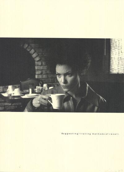 Lorna Simpson, 'Recall', 1998