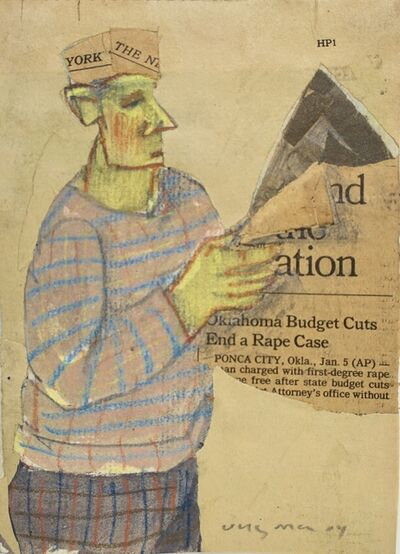 Hank Virgona, 'Cuts and Rape Case', 2004