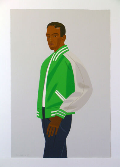 Alex Katz, 'Green Jacket (from Alex & Ada portfolio) ', 1990