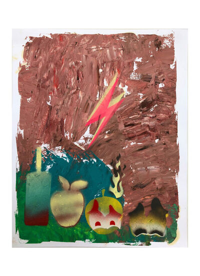 Alessandro Pessoli, 'Ardente Primavera #2', 2020