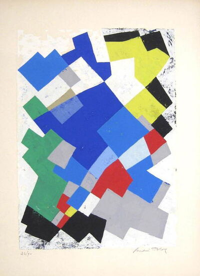 André Bloc, 'Poèmes sur Soie', ca. 1955