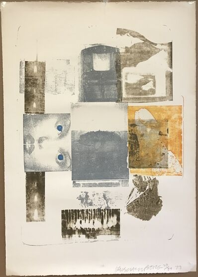 Robert Rauschenberg, 'Elopement from Romances', 1977