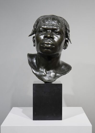 Herbert Ward, 'Bust of a Man from the Vicinity of the Arumini River', ca. 1900