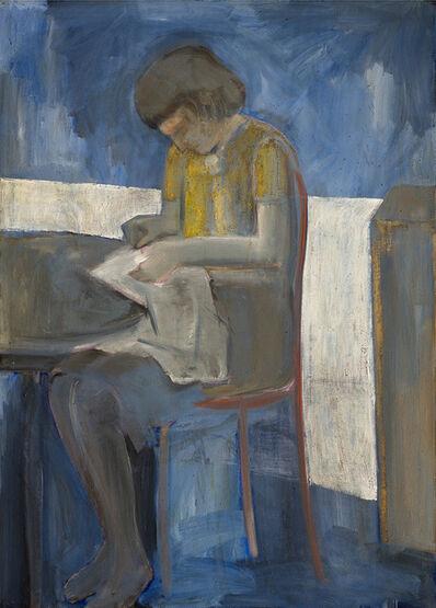 Allen Kubach, 'Marjorie Sewing', 1964