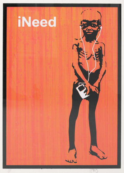 Beejoir, 'Ineed (Orange)', 2006